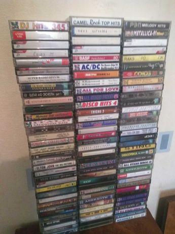 Аудиокассеты кассеты с записями