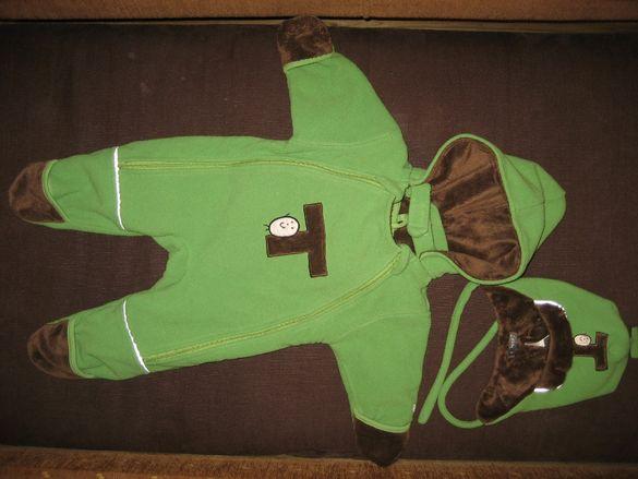Бебешки ексимос, комплект Adidas и зимни обувки за бебеносене