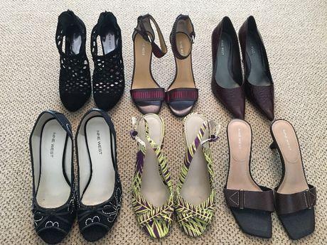 6 чифта Дамски сандали и обувки Nine West