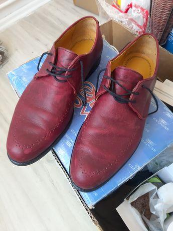 Pantofi din piele naturală Casa Nedelcu