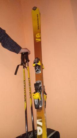 продам профессиональные лыжи Salomon