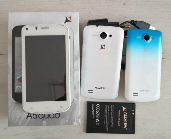 ALLVIEW A5quad, dual SIM, alb
