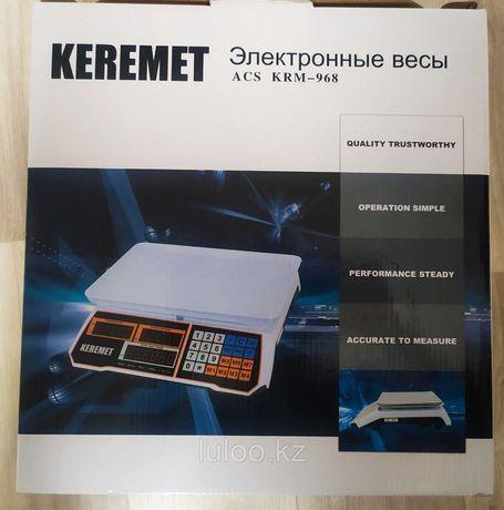 АКЦИЯ !Весы электронные KEREMET ACS KRM-968, 40 кг / 1 гр опт и в розн