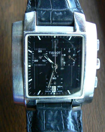 Ceas Tissot Dress Cronograf Quartz, otel, Swiss Made