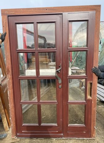 Usa lemn casa firma vila geam termopan H 218 x L 150 Germania