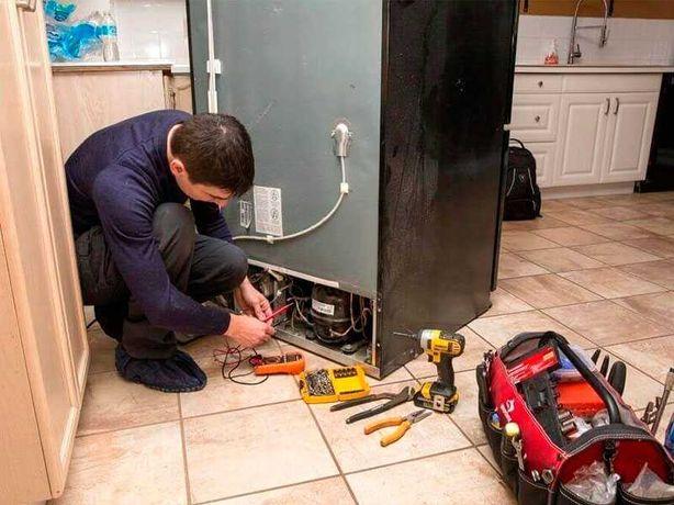 Ремонт и заправка холодильников, морозильников мастер с выезд на дом