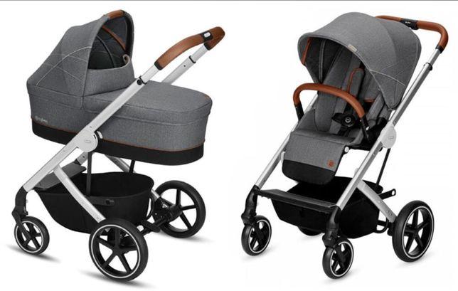 продам шикарную коляску Sybex balios S Lux,  люлька 2в1