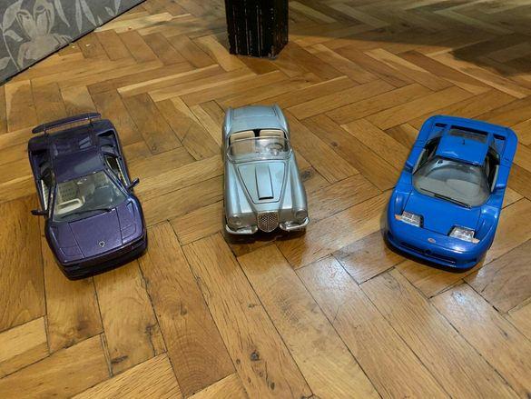 Bugatti, Lancia , Lamborghini 1:18