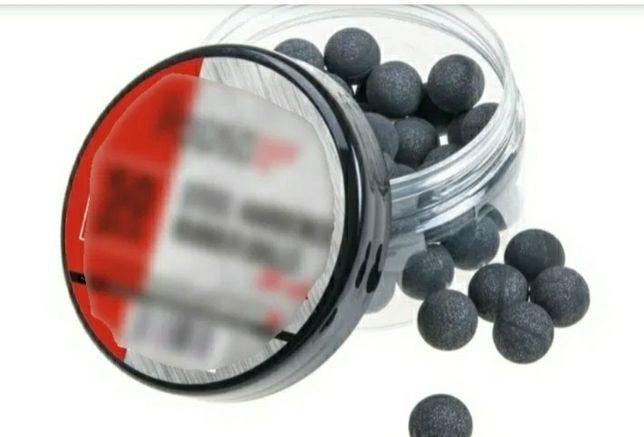 Set 50 bile cauciuc 2.7 gr. cu insertie metalica