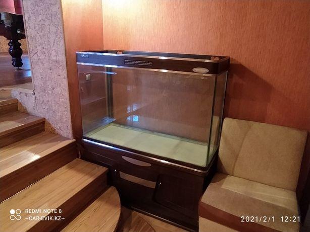 Продам новый аквариум 320 л, с тумбой.