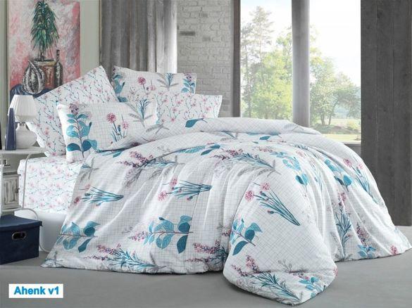 Марка ипекси луксозен двоен спален комплект 70% памук %30 полиамид