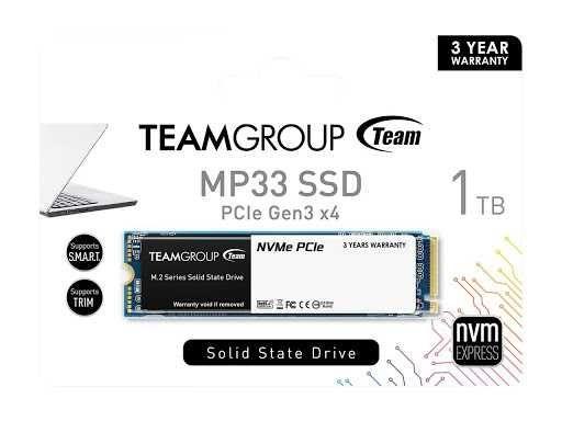 SSD 1Tb Team Group MP33 M.2 (TM8FP6001T0C101)