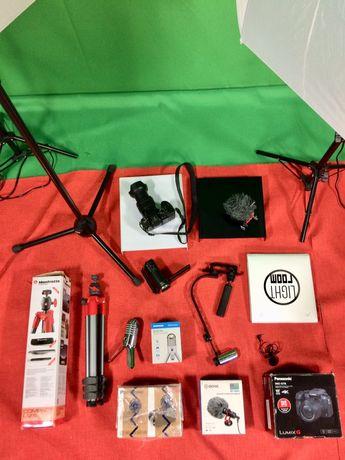 Kit pentru filmare 4K, camera vlog, vlogging, onnline, aparat foto 4 K