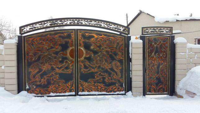 Ворота перило двери решетки козырьки