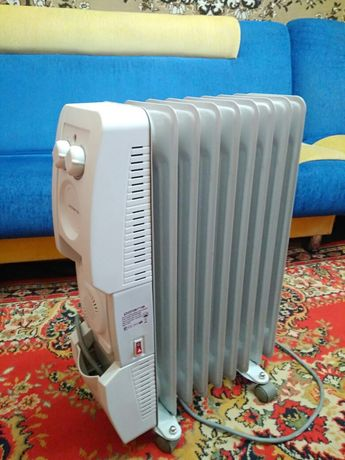 Обогреватель с дополнительным вентилятором радиатор масляной