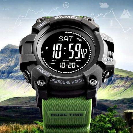 SKMEI 1358 компас алтиметър барометър термометър спортен часовник