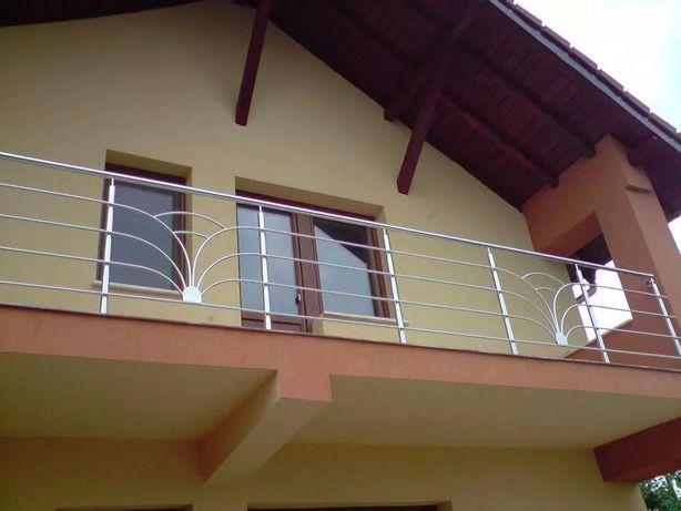 Balustrade inox,balustrada inox+sticla sau lemn