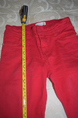 Pantaloni strech pe rosu, eleganti pentru baieti 4-6 ani
