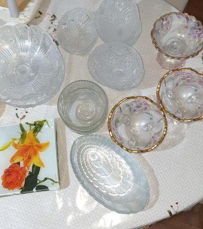 Фруктовницы, Конфетницы, тарелки все в отличном состояний