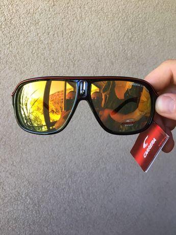 Промоция!Слънчеви очила Carrera!Златисто черно и синьо!