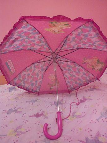 Кокетен розов чадър