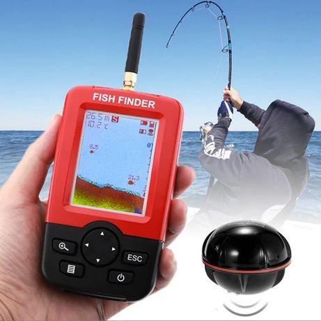 Безжичен сонар за риболов ЦВЕТЕН със зарядно лодка сонар захранка стръ