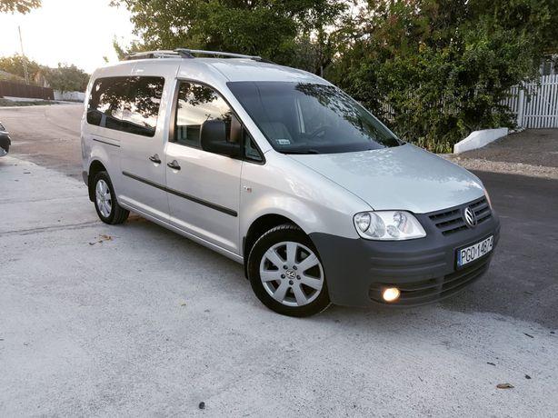 Volkswagen Caddy Maxi, 2009, 2.0 TDi 140 cp, 5 locuri,