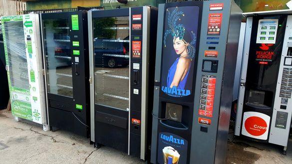 Вендинг автомат за пакетирани стоки / хладилен