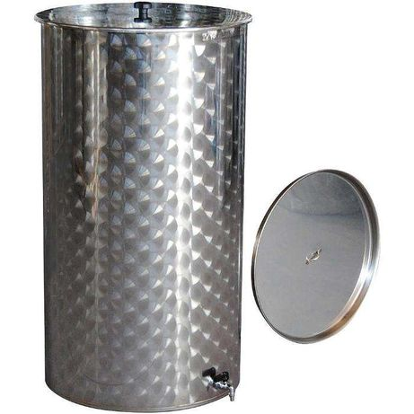 Cisterna / Recipient inox cu capac flotant 1000 L`