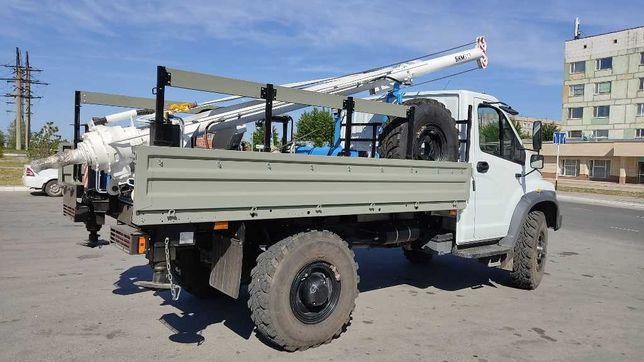 БКМ бурильно-крановая машина Садко 4х4 ГАЗ-33088