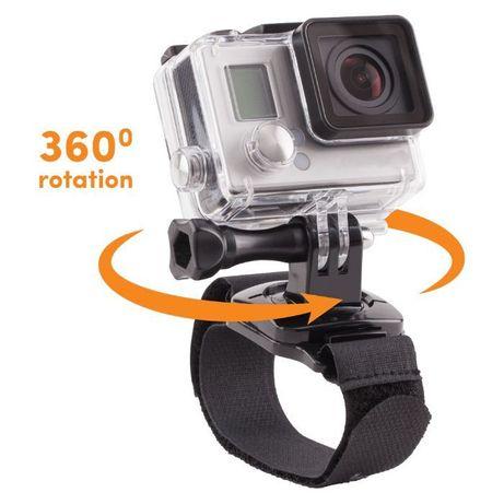 Ротационна 360° wrist strap лента за ръка за екшън камери | hdcam.bg