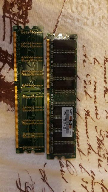 Memorie RAM PC, 256 MB DDR 400Mhz Kingston si Samsung