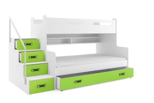Pat etajat, 2-3 copii, Maxi 3, 200x120 xm
