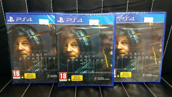 Чисто нова игра DEATH STRANDING за PS4