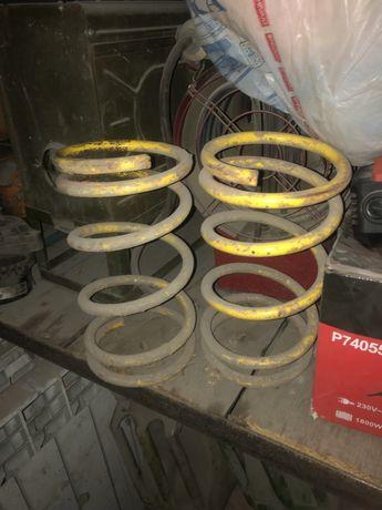 Передние пружины Техно рессор -50 на ваз 2114