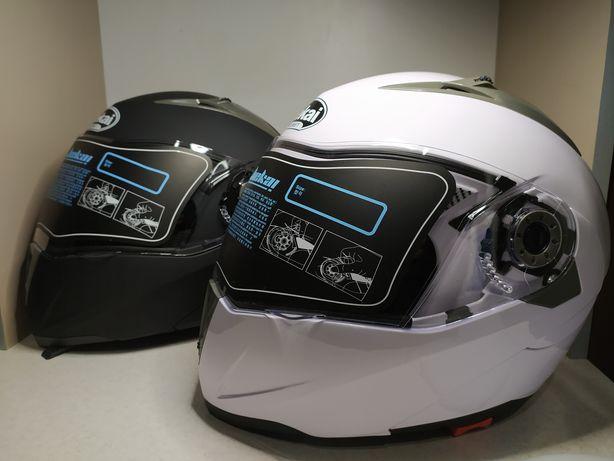 Новые, Мотошлемы Модуляры со Встроенными Очками! Откидной подбородок!
