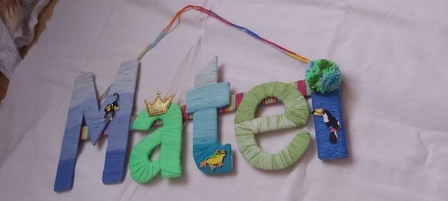 Nume decorative personalizate