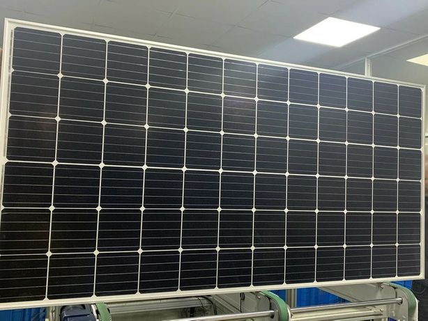 Кун панели(батареи)400вт Монокристал Солнечная панель 400W/24V (mono]