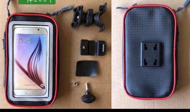 Велосипедный самокатный мопедный телефон держатель
