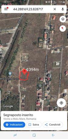 Teren Damila 1394m°( Selgros)