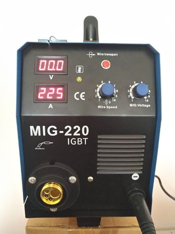 Инверторно Телоподаващо устройство MIG 220А - 4м евро шланг