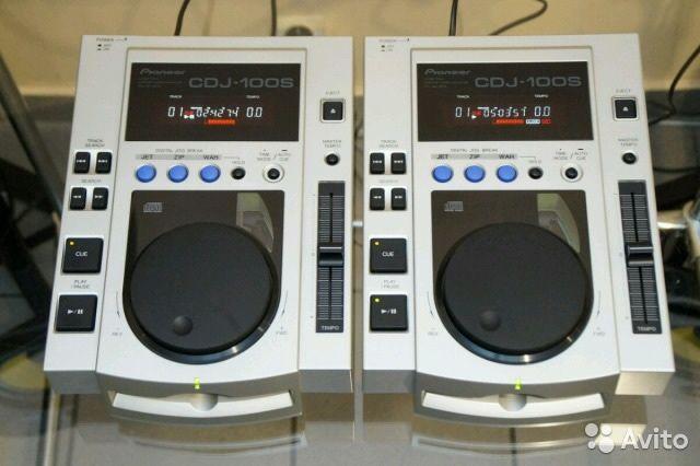 Две dj вертушки pioneer cdj 100s