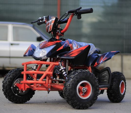 ATV Electric pentru copii ECO Jumpy 800W 36V cu roti de 4 inch