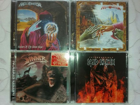 Оригинални и матрични CD-та :Metallica, Overkill, Slayer, Testament