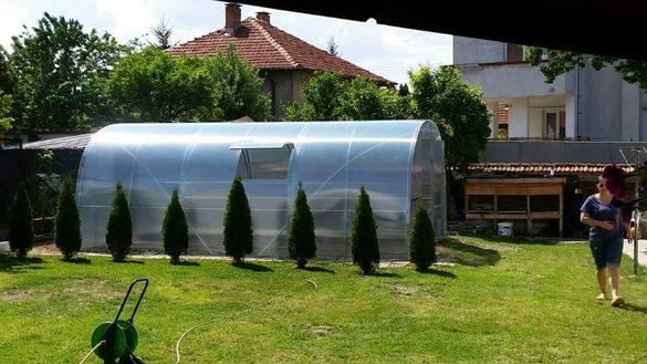 ПЛОВДИВ - Оранжерии българскопроизводство с покритие от поликарбонат
