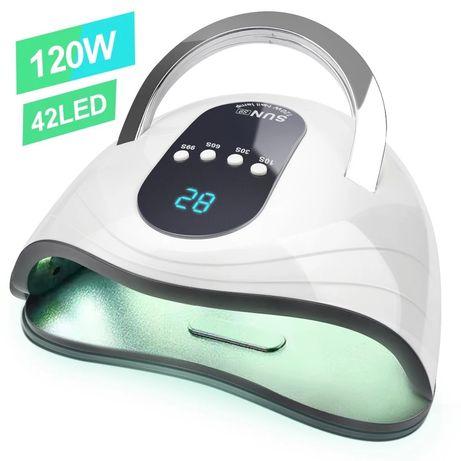 UV лампа за гел лак 120 w 42 led