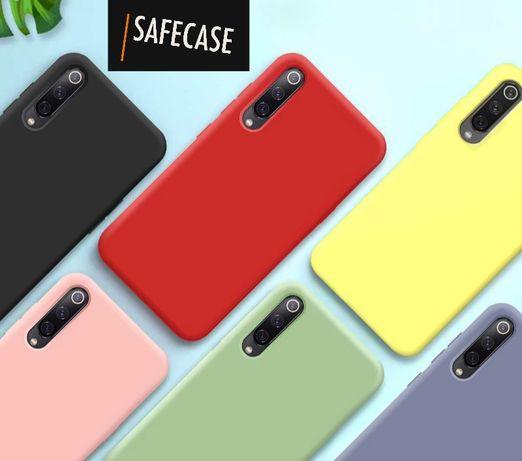 Матов Силиконов Кейс за Samsung Galaxy A30S A40 A50 A70 S10 S9 Note 10