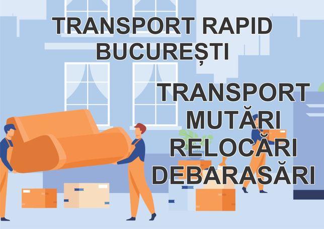 Debarasare /mobila veche /transport bagaje marfa/ materiale / Duba