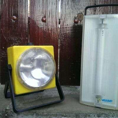 Къмпингови лампи и компас