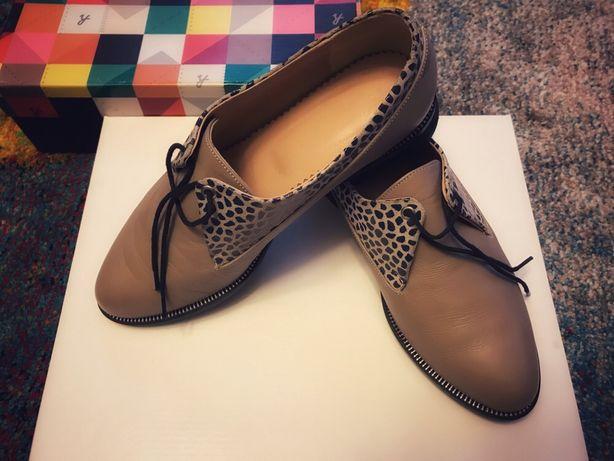 Pantofi piele HotStepper mocasini dama